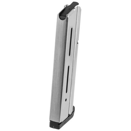 Wilson Combat 47NX 1911 10mm 9 rd Stainless Steel Stainless Steel Finish Magazine