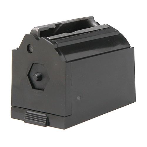 Ruger 90076 77/17, 77/22 17 HMR/22WMR 9 Round Plastic Black Magazine