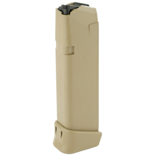 Glock 47488 G19X 9mm Luger 19 rd Coyote Tan Magazine