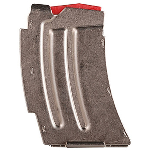 Savage 90007 MK II 22 LR/17 HM2 5 Round Stainless Steel Finish Magazine