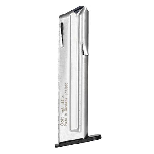 Colt Rimfire 517602 1911 22 LR 12 Round Stainless Steel Finish Magazine