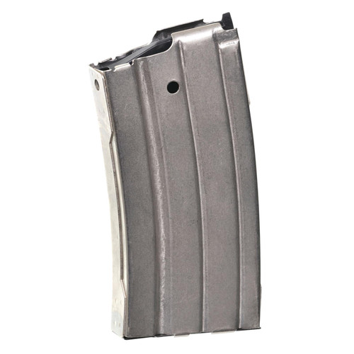 ProMag RUGA1N Ruger 223 Rem,5.56 NATO Mini-14 20rd Nickel-Plated Steel Detachable Magazine
