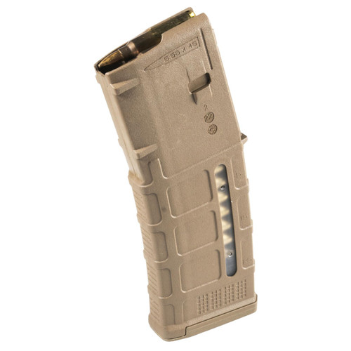 Magpul PMAG GEN M3 Window AR15/M4 223 Rem/5.56x45mm 223 Rem/5.56 NATO 30 Round Polymer Medium Coyote Tan Magazine