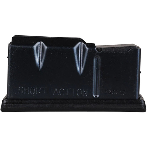 Remington Accessories 19633 710/770 243 Win/308 Win/7mm-08 Rem 4 Round Metal Black Finish Magazine