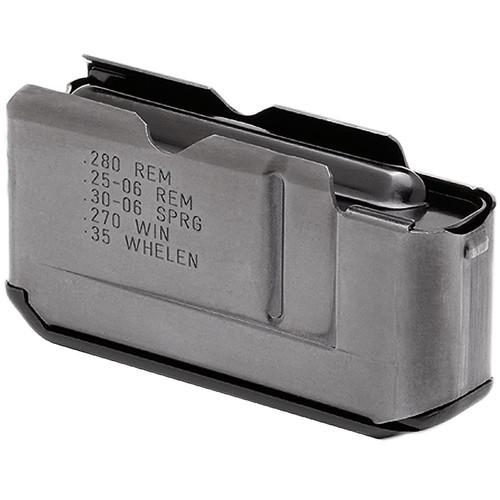 Remington Accessories 19637 Six/7600/760/76 25-06 Rem/270 Win/280 Rem/30-06 Springfield/35 Whelen 3 Round Steel Blued Finish Magazine