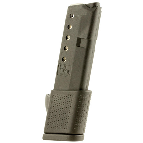 ProMag GLK11 Glock Compatible 380 ACP G42 10rd Black Polymer Detachable Magazine