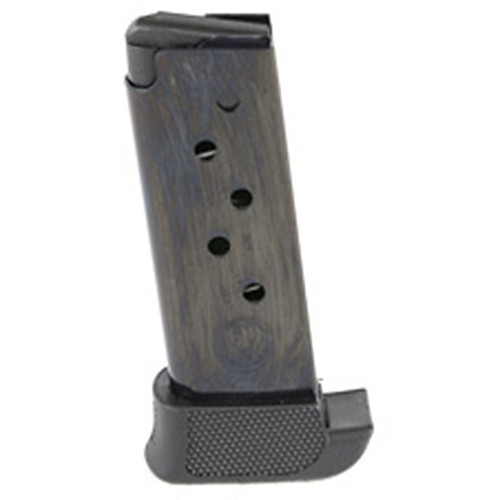 Ruger 90405 LCP 380 Automatic Colt Pistol (ACP) 7 Round Steel Blued Finish Extended Magazine