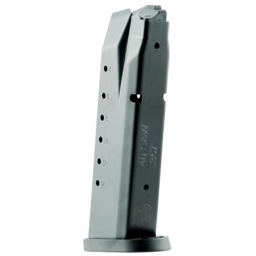 Smith & Wesson 194390000 M&P 40 S&W/357 Sig 15 Round Steel Black Finish Magazine