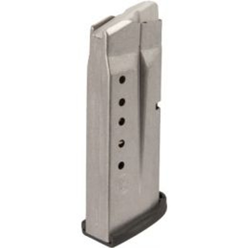 Smith & Wesson 3005566 M&P Shield 45 ACP 6 Round Aluminum Silver Finish Magazine
