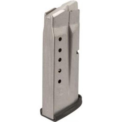 Smith & Wesson 3005566 M&P Shield 45 ACP 6 Round Aluminum Silver Finish Magazine