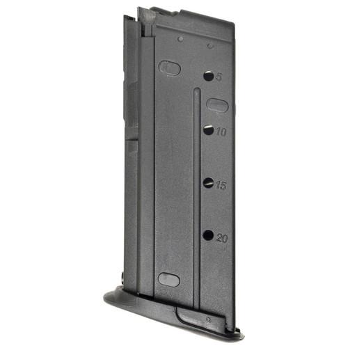FN Five-seveN 5.7X28mm 20 Round Polymer Black Finish Magazine