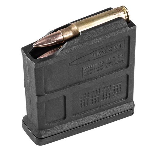 Magpul MAG549-BLK PMAG 7.62x51/308Win/7mm-08 Rem/6.5mm Crdmr/260 Rem/243 Win 5rd Detachable Magazine