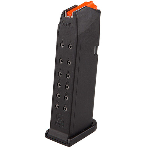 Glock G19 Gen5 9mm Luger 15 Round Polymer Black Finish Magazine
