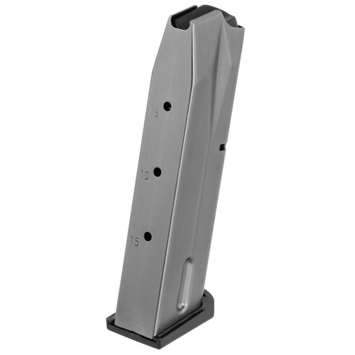 Beretta USA JM9A115 92 9mm Luger 15 Rd Blued Steel Magazine