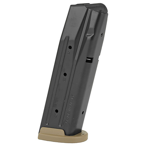Sig Sauer P320 Full Size 9mm Luger 17 Round Steel Black Body/FDE Base Finish Magazine