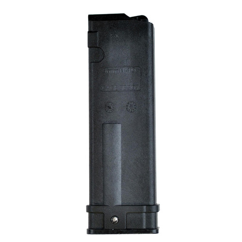 MasterPiece Arms Defender 9mm Luger 30 Round Polymer Black Finish Magazine