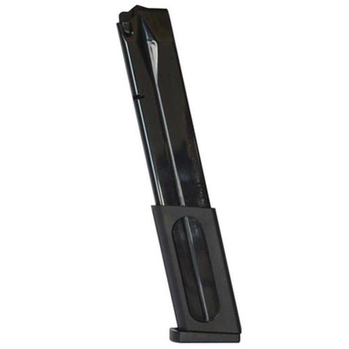 Beretta USA C89282 92F/Cx4 9mm Luger 30 Rd Blued Steel Magazine