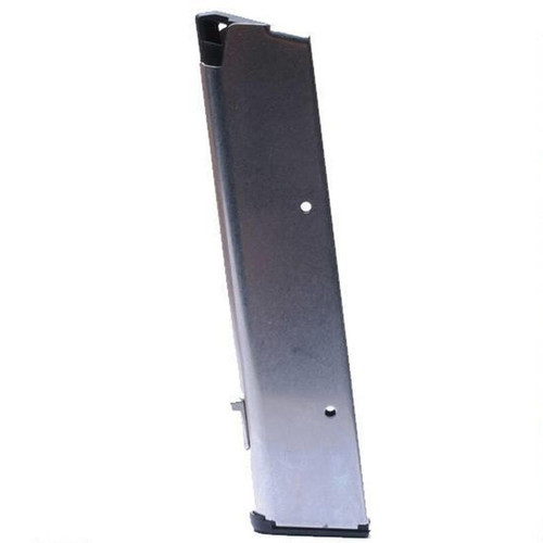 Wilson Combat 1911 Government/Commander Full Size 10 Round Magazine .45 ACP Ultra Thin Plastic Base Pad Stainless Steel Natural Finish
