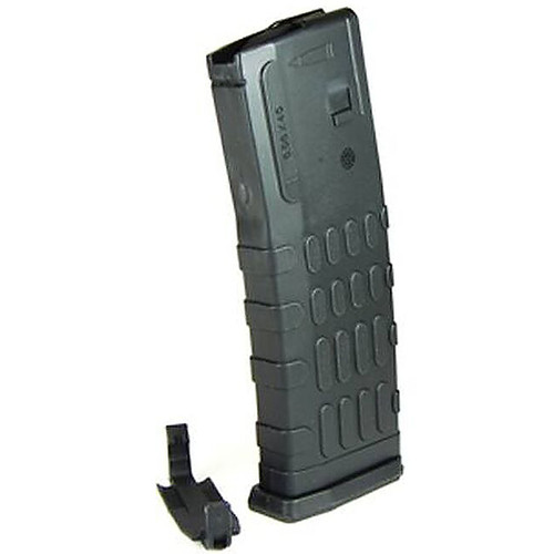 Red White & Blue AR-15 Magazine .223 Rem/5.56 NATO 30 Rounds Polymer with Dust Cover Black
