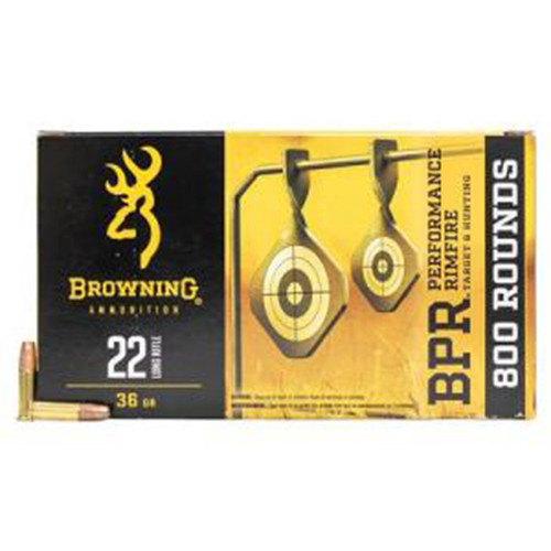 Browning 22LR 36 gr Copper Plated HP 800 Round Value Pack B194122800