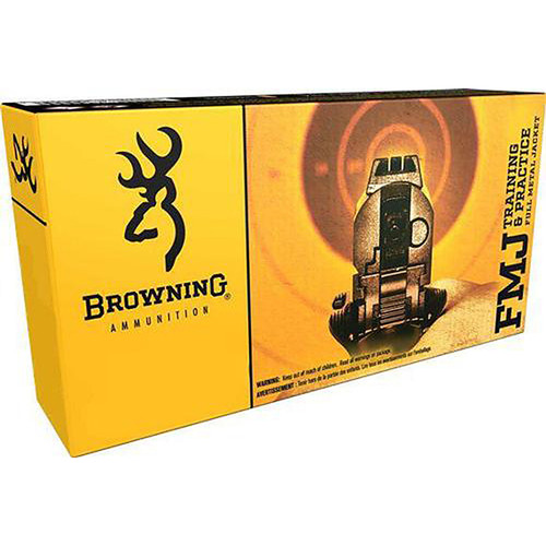 Browning 9mm 115Gr FMJ Handgun Ammunition - B191800092