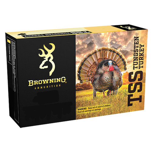 "Browning Ammo B193922030 TSS Tungsten 20 Gauge 3"" 1 1/2 oz 7,9 Shot 5 Bx/ 10 Cs"