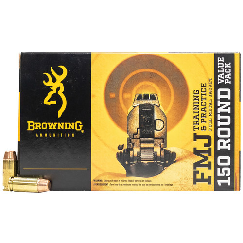 Browning FMJ Pistol Value Pack - 380 Auto 95gr #B191803805