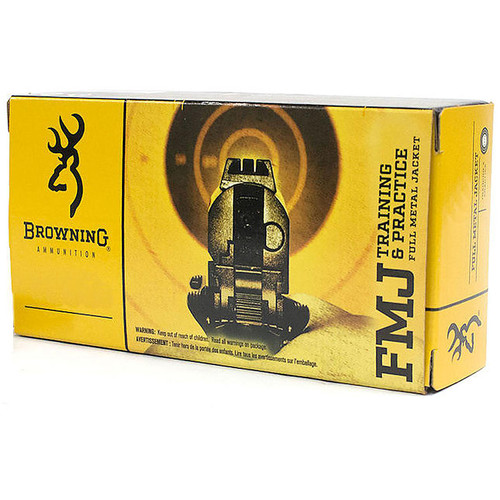 Browning FMJ Training & Practice 40 S&W 165 Gr 50/Box