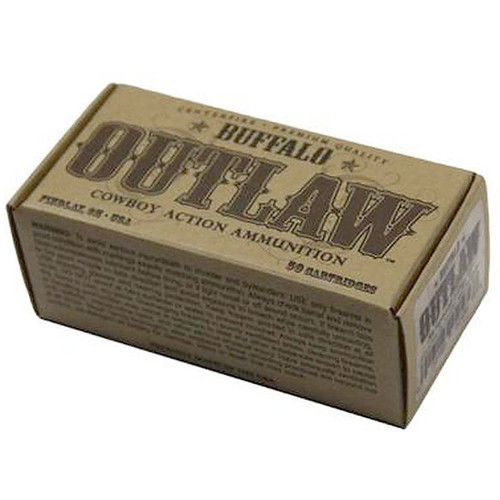Buffalo Cartridge Outlaw 38 Special 125gr Lead Round Nose Flat Point 50rd/Box