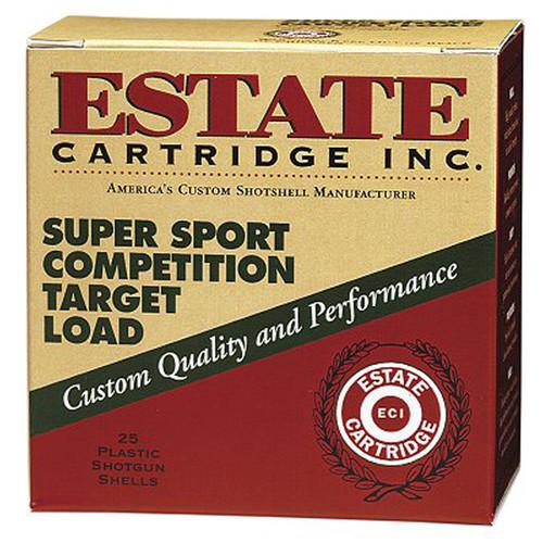 "Estate SS28 Super Sport Target 28 ga 2.75"" .75 oz 7.5 Shot 25Box"