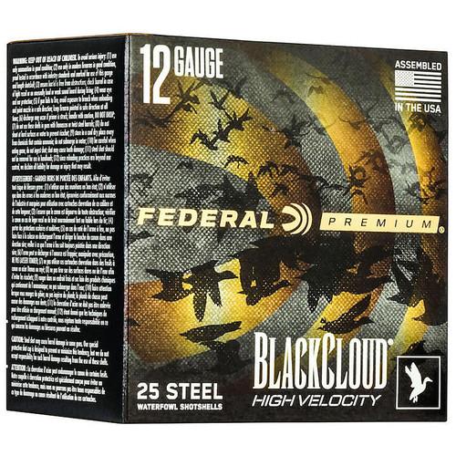 Federal 12 Gauge 3 In 1-1/8 oz BB Black Cloud High Velocity 25/Box