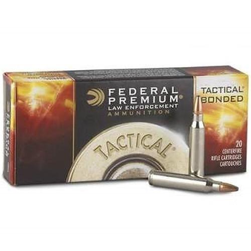Federal 223 Rem Ammunition TRU LE223T1 55 Grain Bonded Soft Point 20 rounds