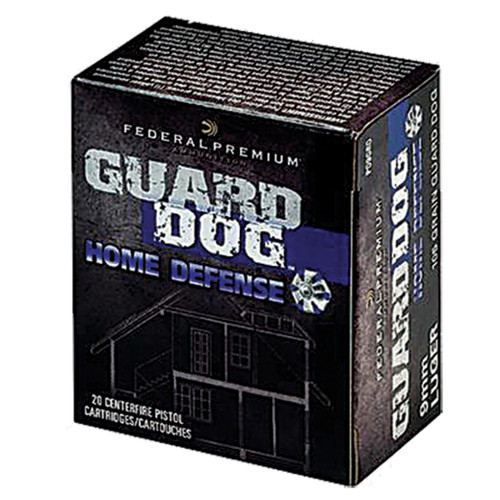 Federal 40 S&W 135 gr Expanding FMJ Guard Dog Home Defense 20/Box