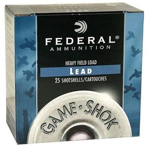 "FEDERAL 410GA 2.5"" 1/2OZ #6 GAME-SHOK SHOTSEHELL AMMUNITION 25RD - H412 6"