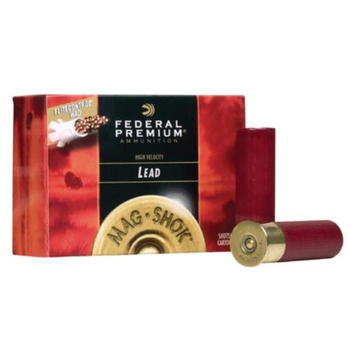 "Federal Mag-Shok Turkey Load 12 Ga, 3"", 1150 FPS, 2oz, 5 Shot, 10rd/Box"