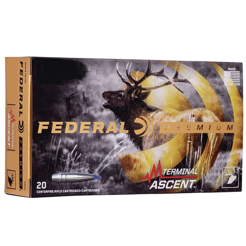 Federal P270TA1 Premium 270 Win 136 gr Terminal Ascent 20 Bx/ 10 Cs