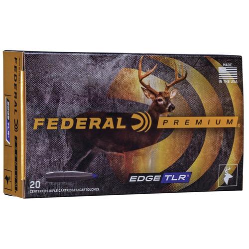Federal P65CRDETLR1 Premium 6.5 Creedmoor 130 gr Edge Terminal Long Range 20 Bx/ 10 Cs
