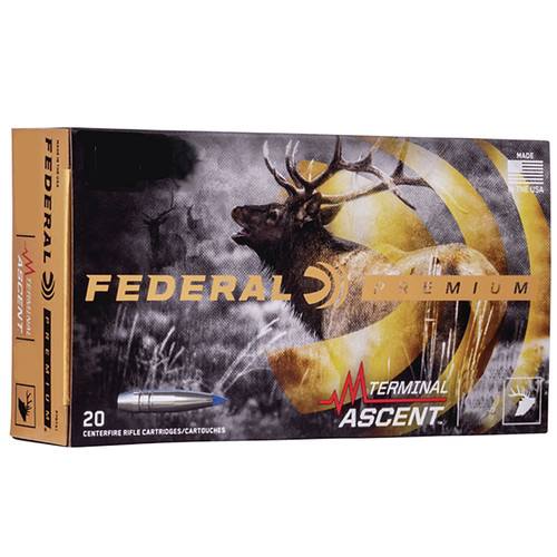 Federal P65CRDTA1 Premium 6.5 Creedmoor 130 gr Terminal Ascent 20 Bx/ 10 Cs