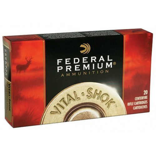 Federal Premium Ammunition 25-06 Remington 100 Grain Nosler Ballistic Tip Box of 20