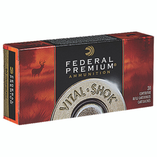 Federal Premium Ammunition 270 Winchester 130 Grain Nosler Ballistic Tip Box of 20