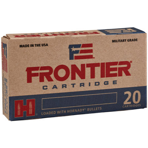 Frontier Cartridge FR320 Rifle 5.56 NATO 75 gr Boat Tail Hollow Point Match 20 Bx/ 25 Cs