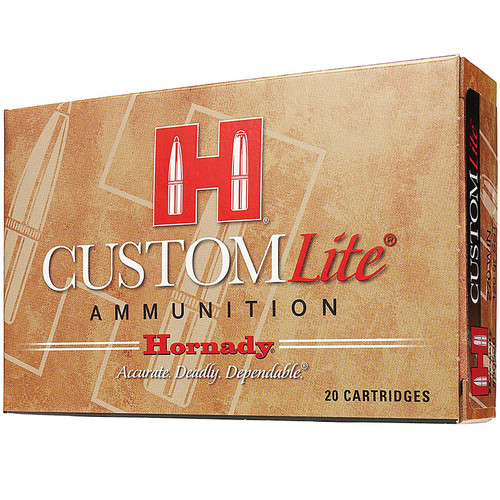 Hornady 80806 Custom Lite 30-30 Win 150 gr Round Nose (RN) 20 Bx/ 10 Cs