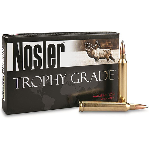 Nosler 60046 Trophy Grade 7mm STW 140 gr Partition (PT) 20 Bx/ 10 Cs