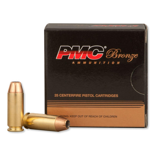 PMC 10B Bronze 10mm Auto 170 gr Jacketed Hollow Point (JHP) 25 Bx/ 20 Cs