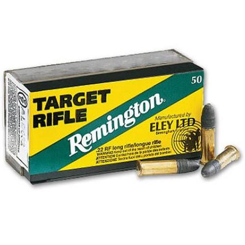 Remington/Eley Target Rifle .22 LR 40 Grain RN 50 Round Box