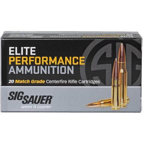Sig Sauer E308M120 Elite Match Grade 308 Win 168 gr Open Tip Match (OTM) 20 Bx/ 25 Cs