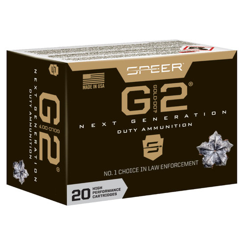 Speer Ammo 24256 Gold Dot G2 45 ACP +P 230 gr G2 20 Bx/ 10 Cs