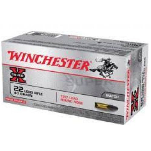 Winchester 22LRTSW .22LR 40GR HP 222 Rounds