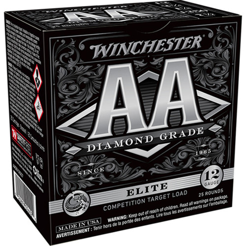 "Winchester Ammo AADGL12507 AA Diamond Grade 12 Gauge 2.75"" 1 oz 7 Shot 25 Bx/ 10 Cs"