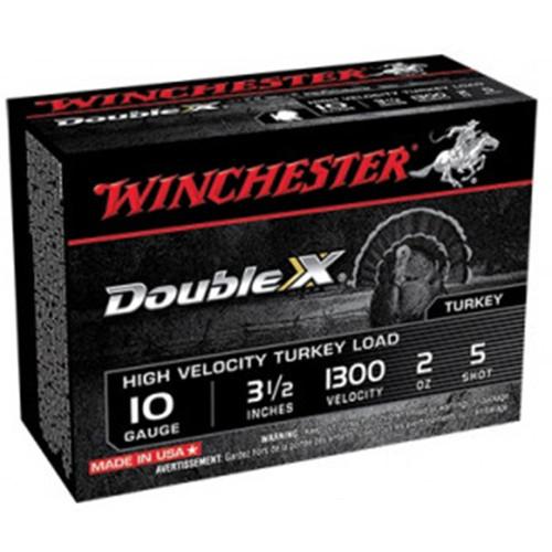 "Winchester Ammo STH105 Double X High Velocity 10 Gauge 3.50"" 2 oz 5 Shot 10 Bx/ 10 Cs"